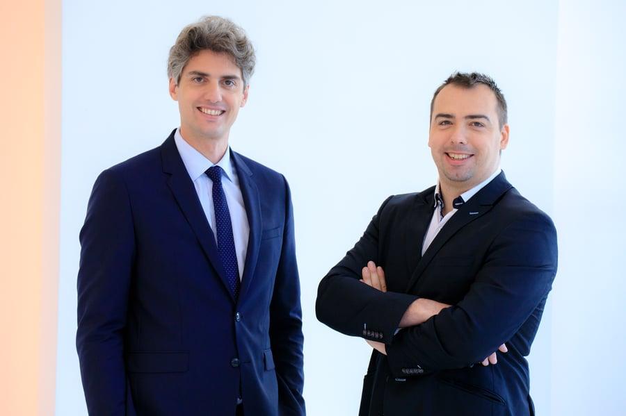 Fondateurs de Gatewatcher, éditeur d'une plateforme française de détection de cyberattaques