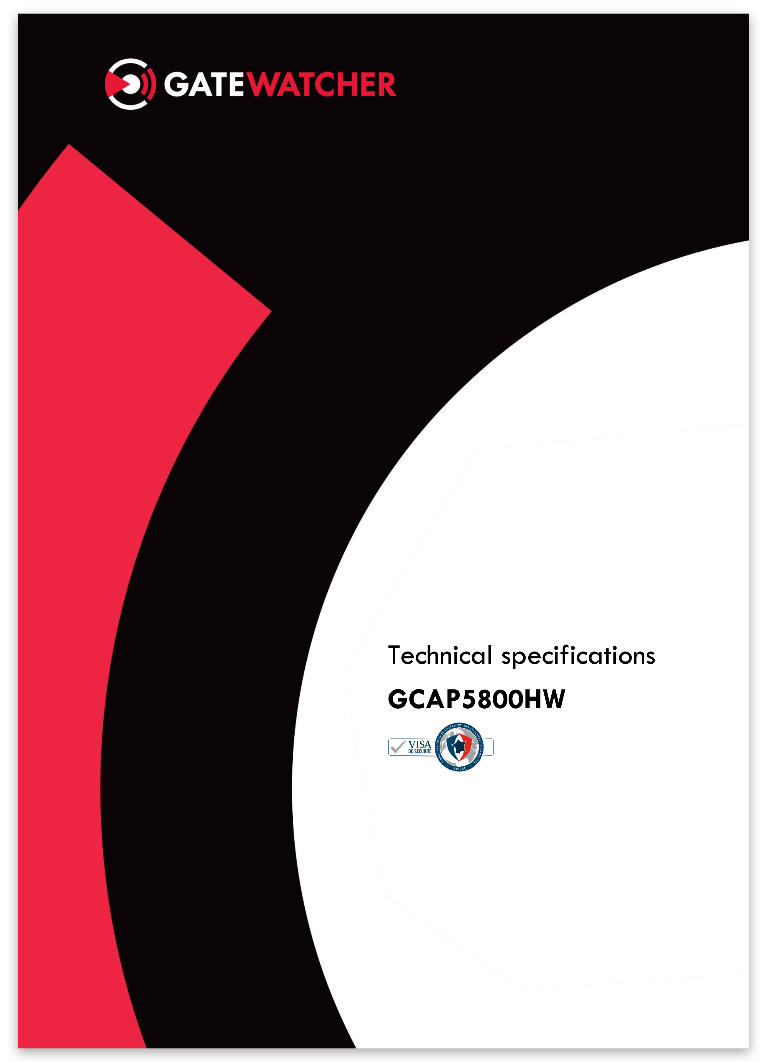 Gatewatcher GCAP5800HW EN