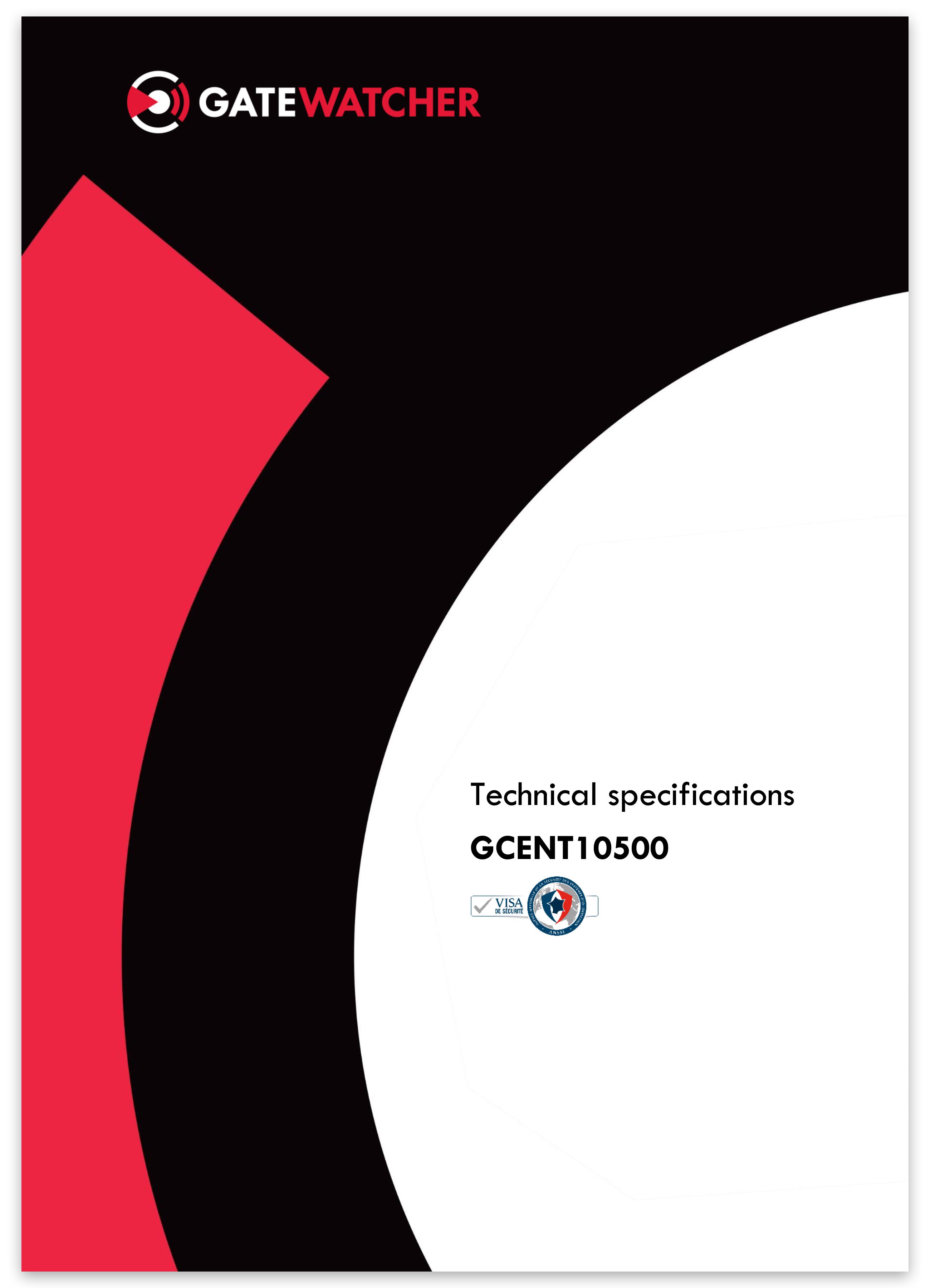Gatewatcher GCENT10500 EN